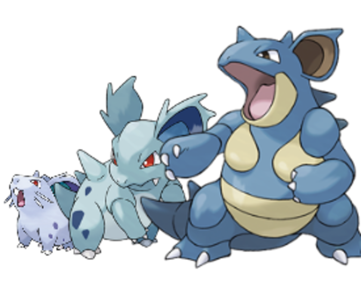 Pokemon Review: Nidoqueen and Nidoking
