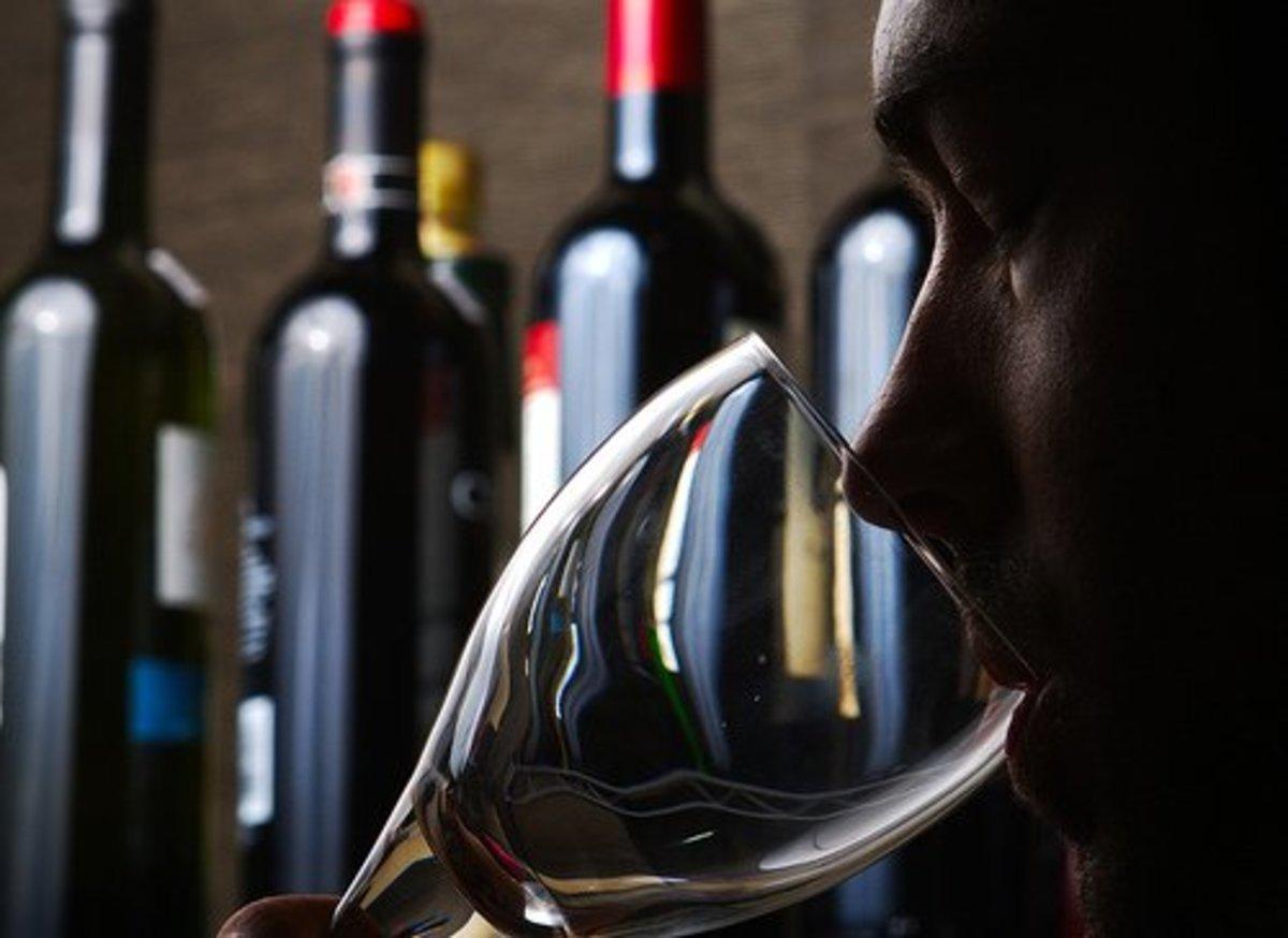 Mmmm . . . wine.