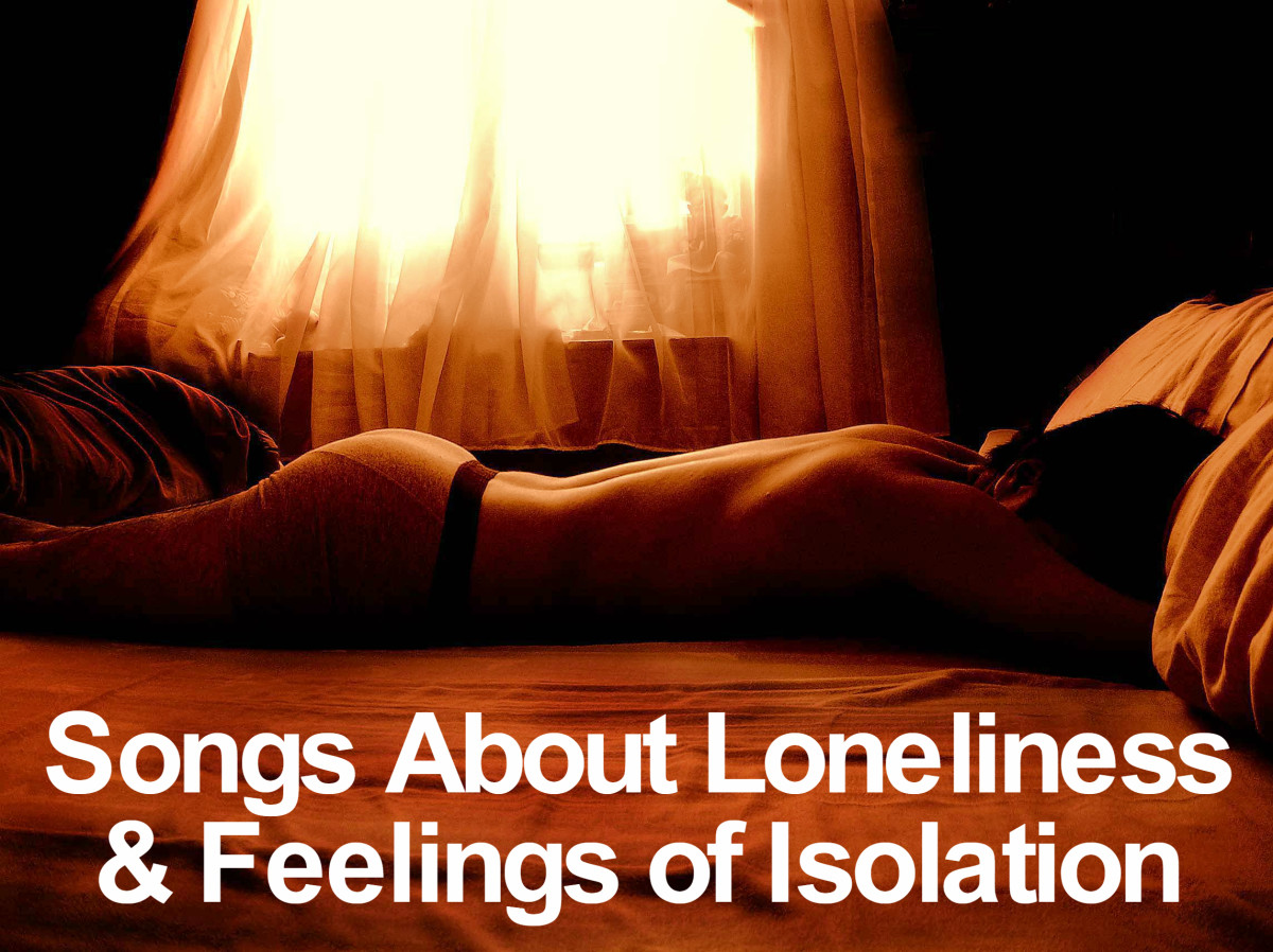 Song lyrics about being lonely and sad
