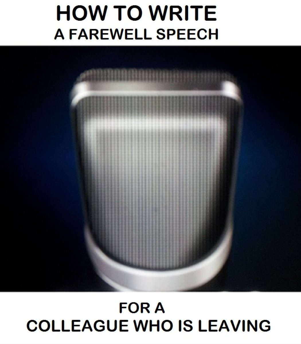 Useful Guide for How to Write a Farewell Speech for a Colleague