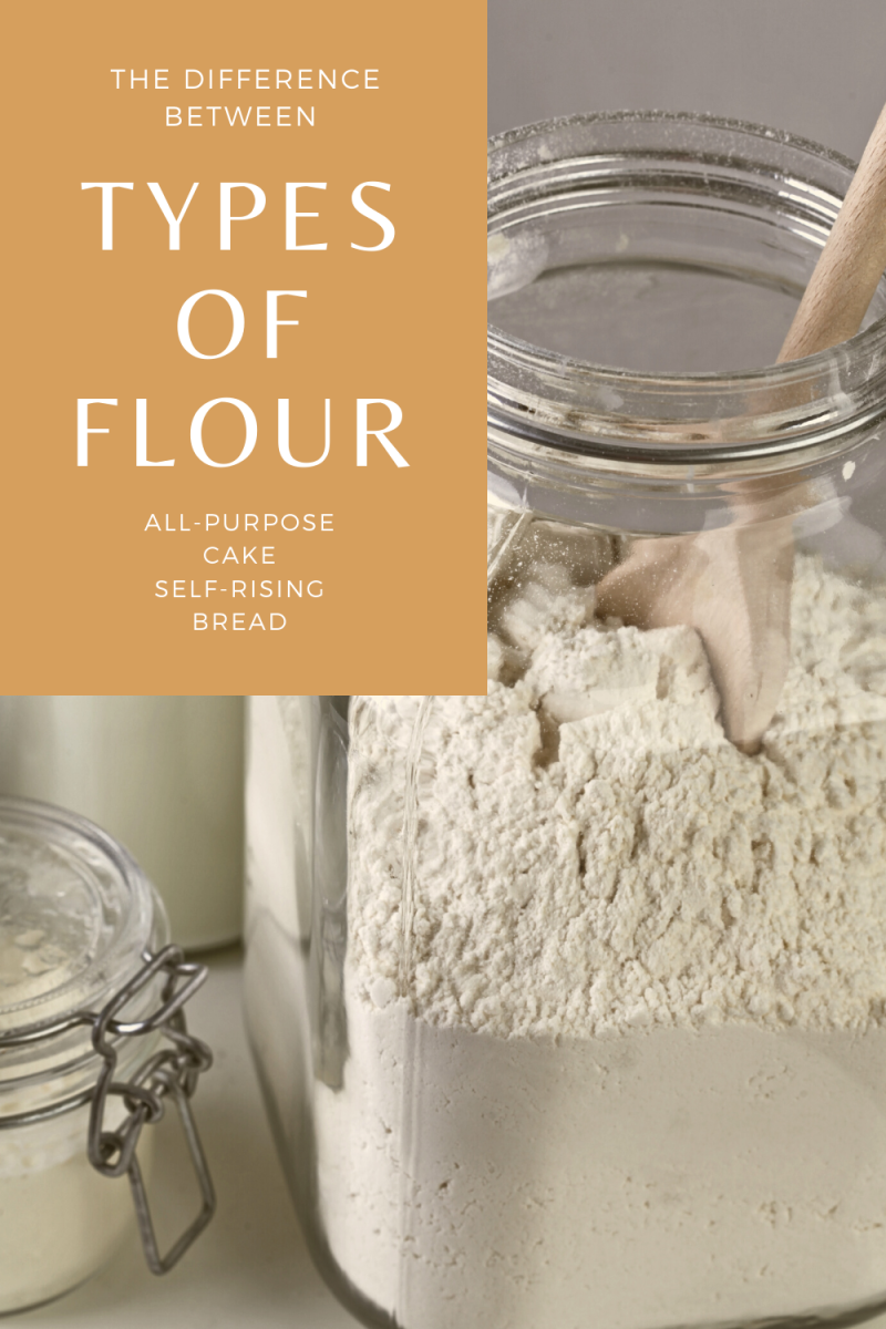 What Is Cake Flour, All-Purpose Flour, Self-Rising Flour, and Bread Flour?