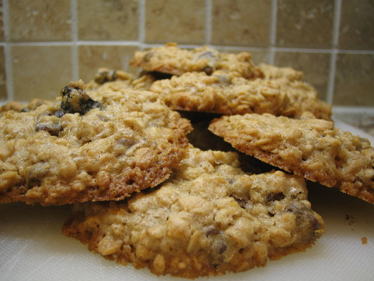 Oatmeal Raisin Applesauce Cookies Recipe