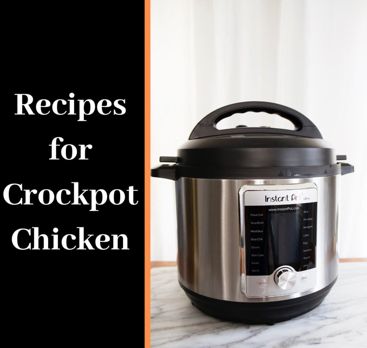 6 Recipes for Slow Cooker or Crockpot Chicken