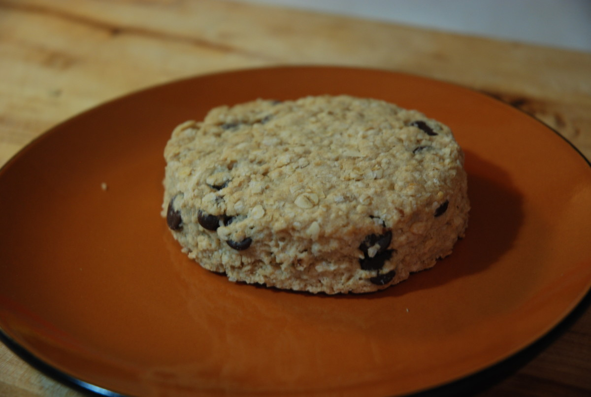 Delicious Chocolate Chip Oatcakes