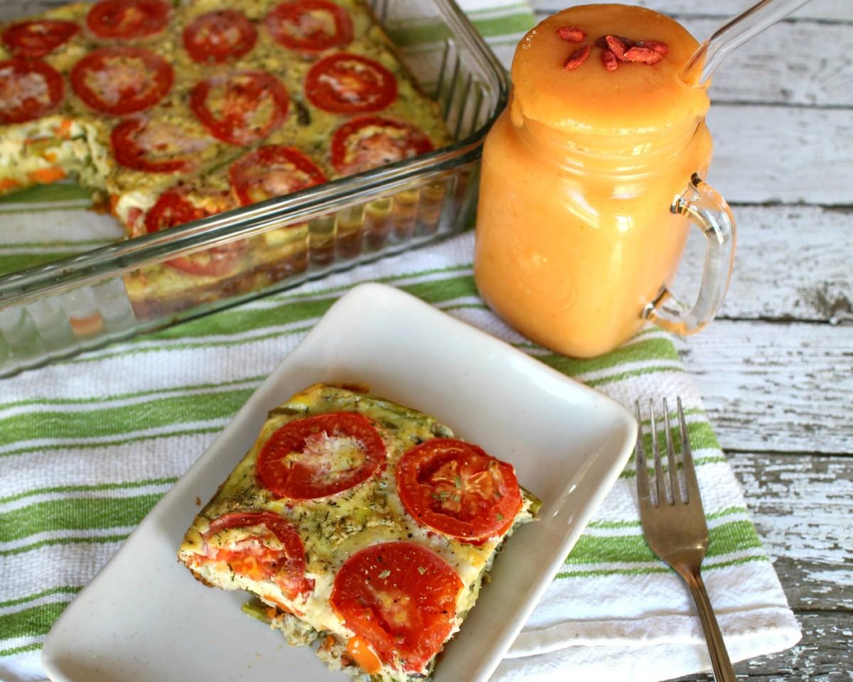 Paleo Breakfast Casserole (Paleo Frittata)