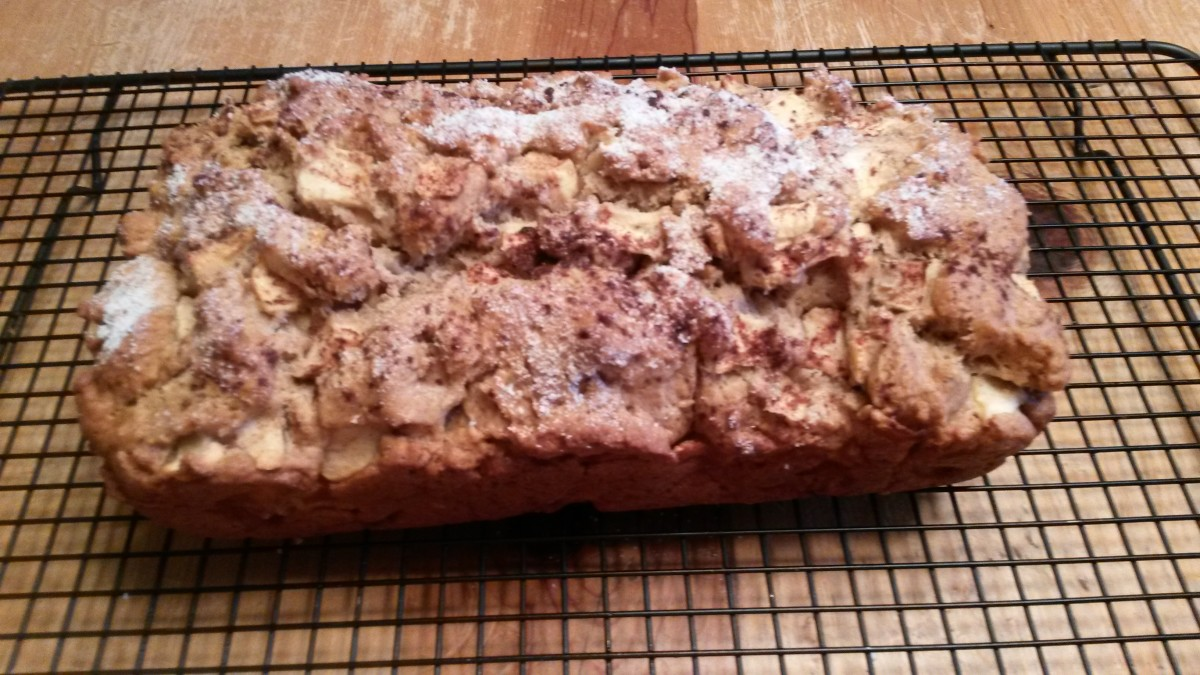 Apple and Pear Bread Recipe