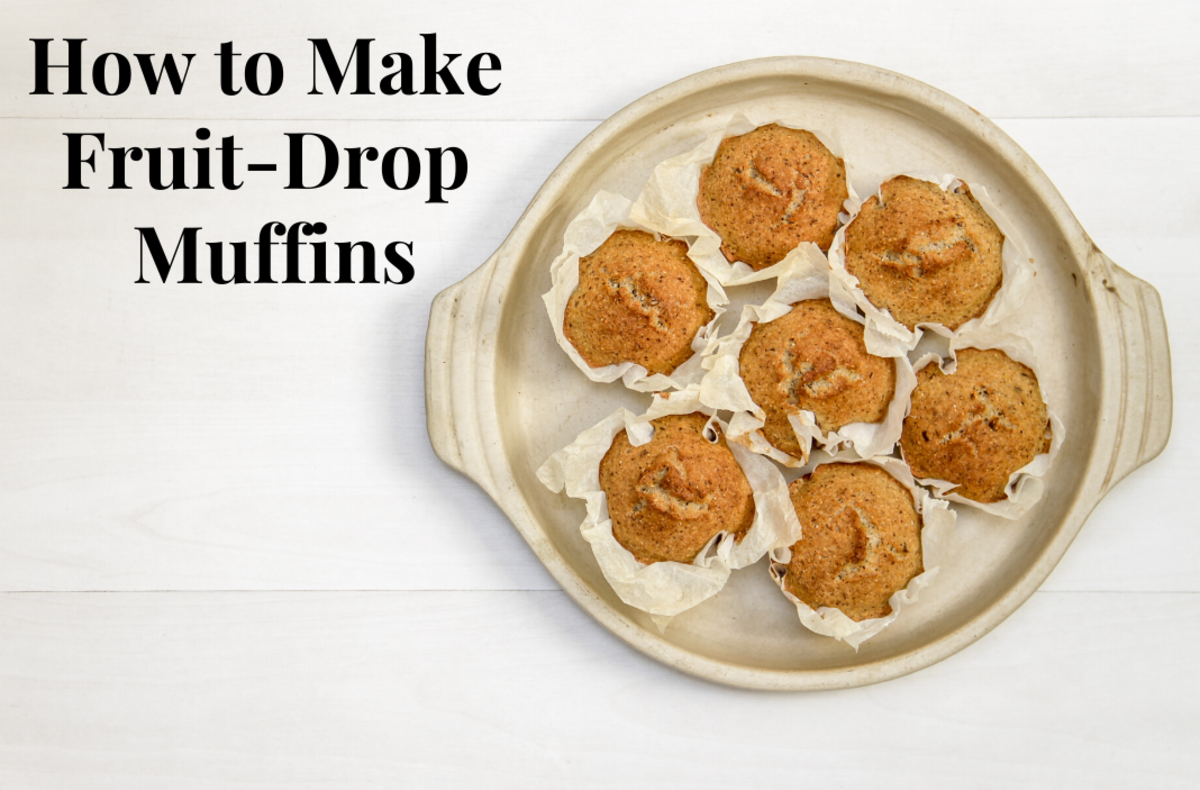 These fruit-drop muffins are truly delicious.