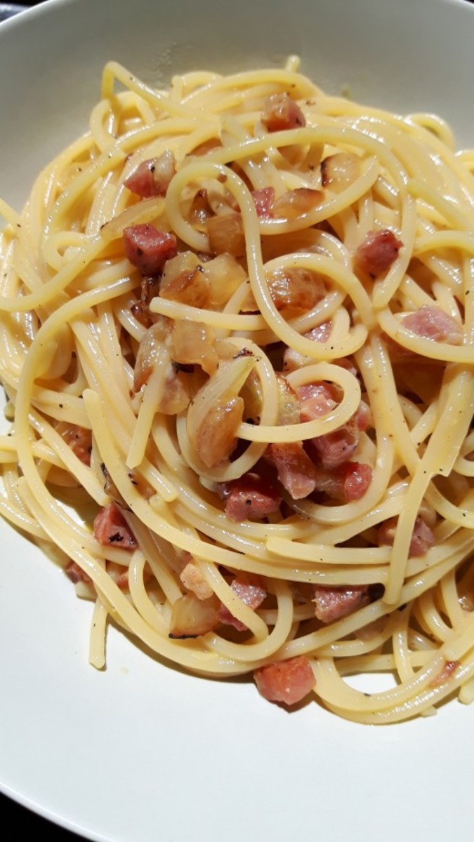 Pasta carbonara... a delicious Roman dish   italiani.it  Delicious Pasta Carbonara