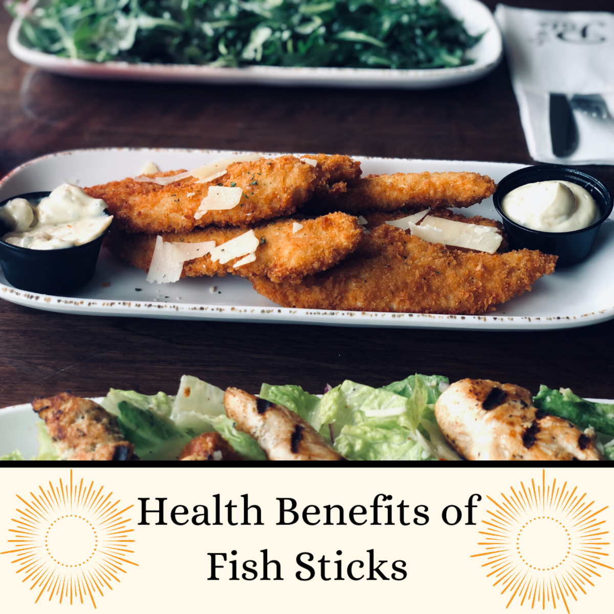 Health Benefits of Fish Sticks (Fish Fingers) With Baked Beans