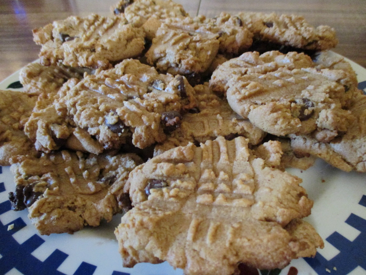 These peanut butter cookies will remind you of childhood.