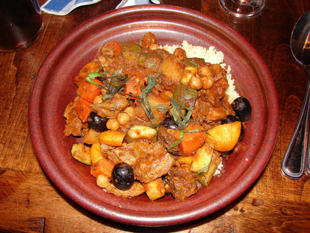 Burgoo is a dish with a flexible list of ingredients such as squirrel, racoon, skunk, or even rattlesnake with vegetables.