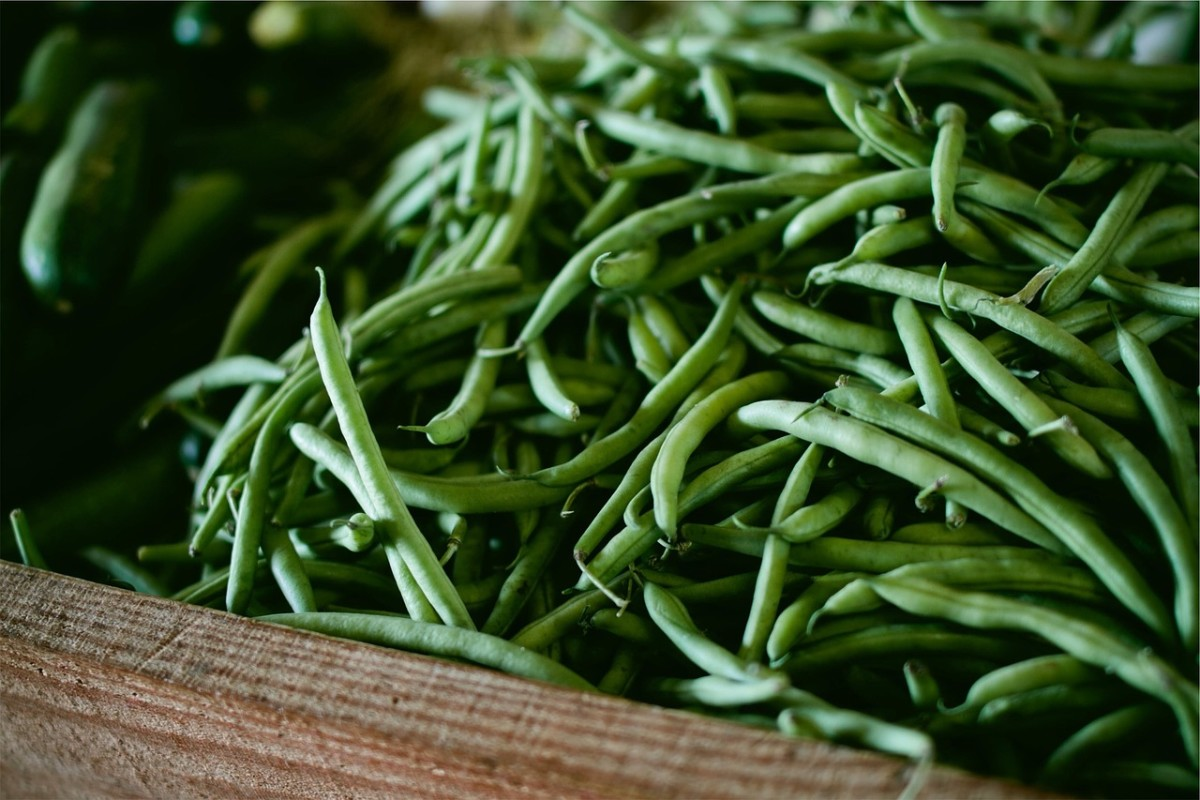 Crisp and flavorful green beans.