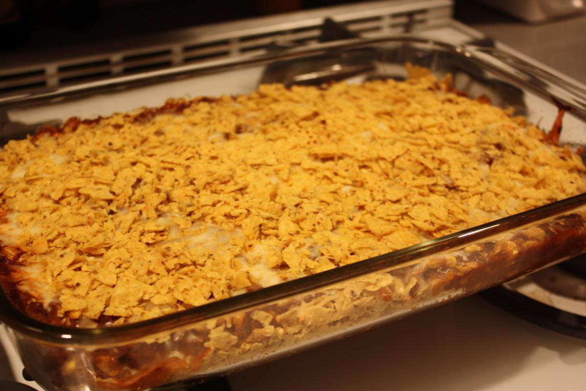 Doritos Nacho Cheese Taco Casserole
