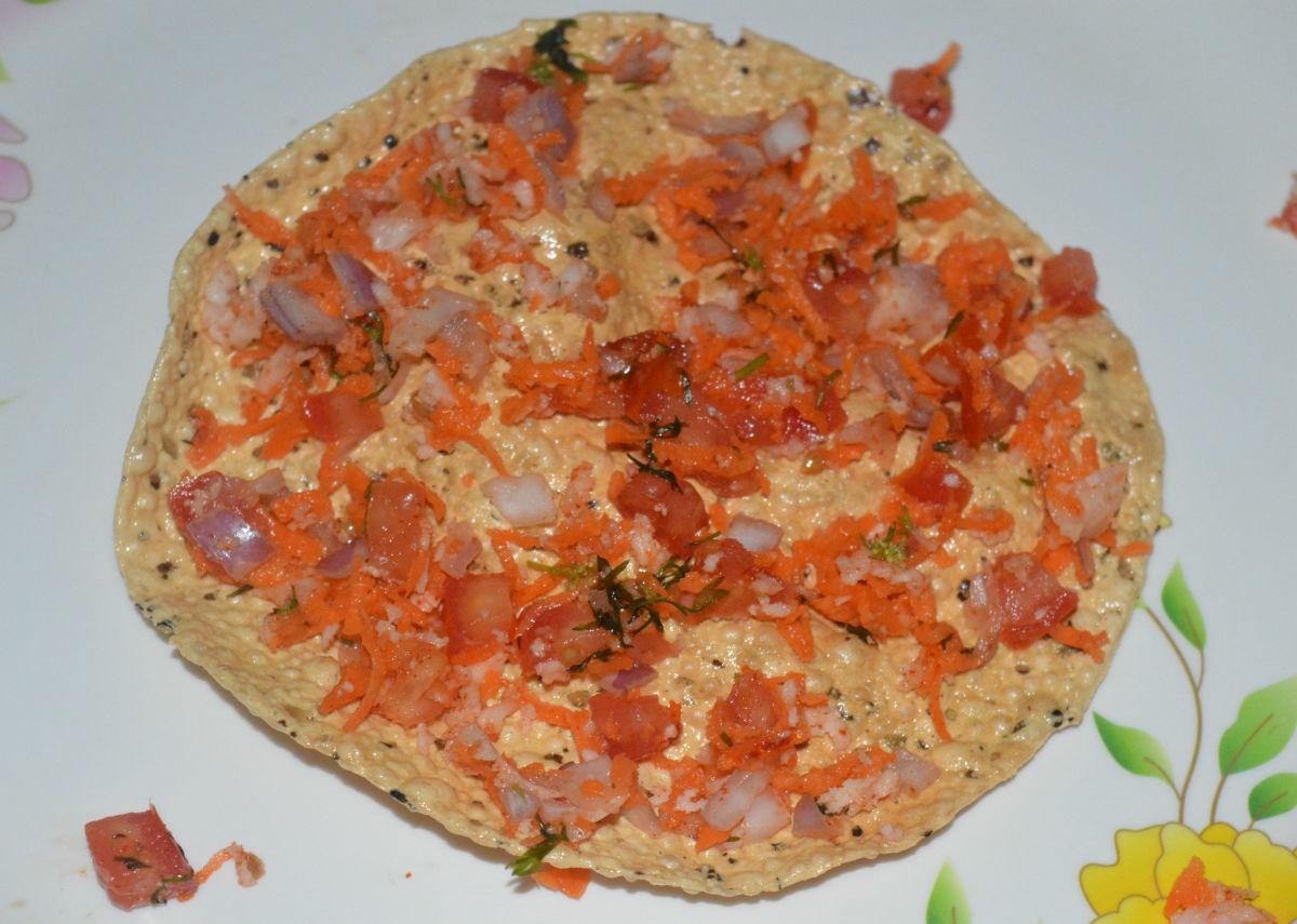 Masala papad makes a tasty snack