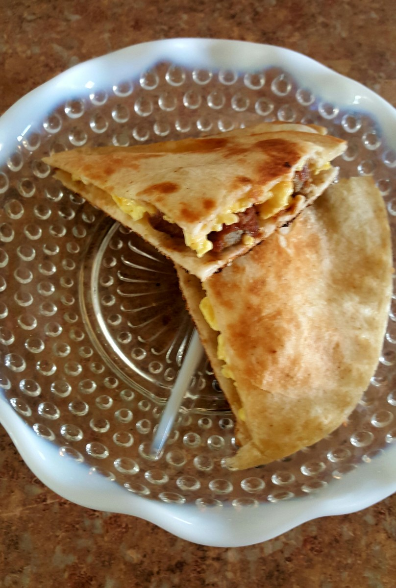 Delicious Breakfast Quesadillas