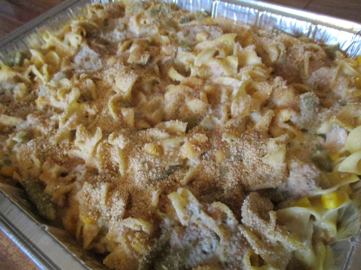 Mom's Cooking: How to Make Tuna Noodle Casserole