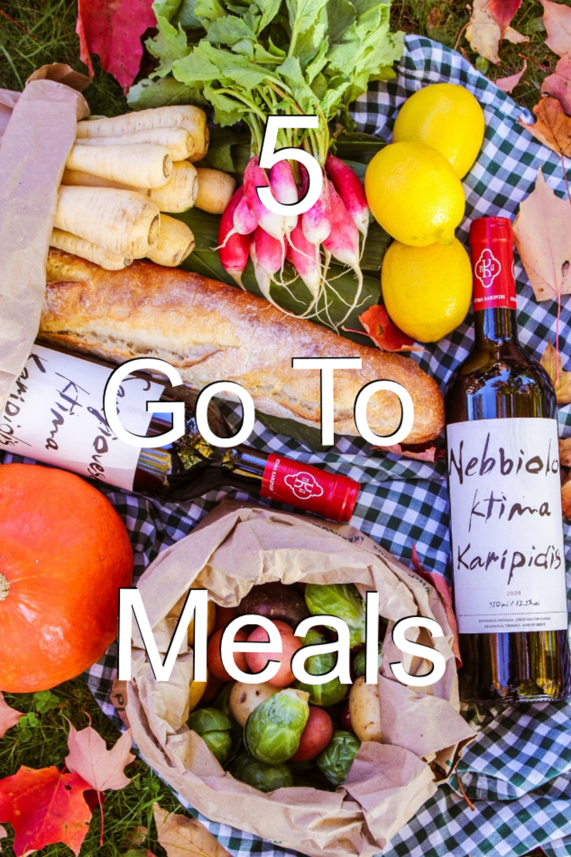 5 of the Best Go-To Meals