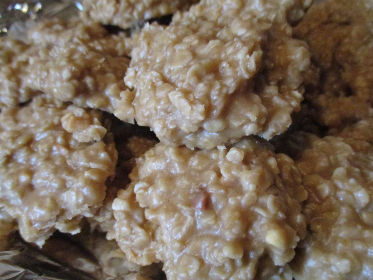 Mom's Cooking: Easy Peanut Butter No-Bake Recipe