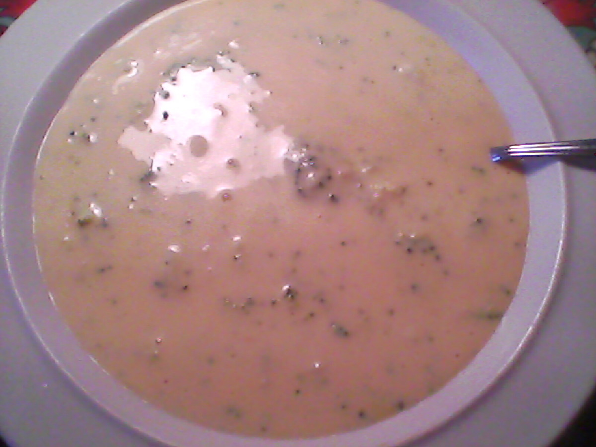 Four Cheese Broccoli Soup