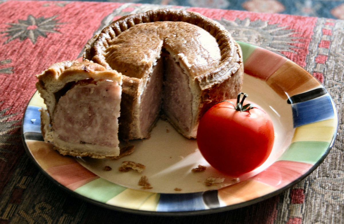 6a518b9e5e14d Melton Mowbray Pork Pie | Delishably