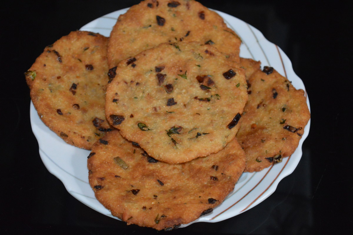 Maddur Vada is great snack for camping and picnicking. It remains fresh for two days in normal temperature.