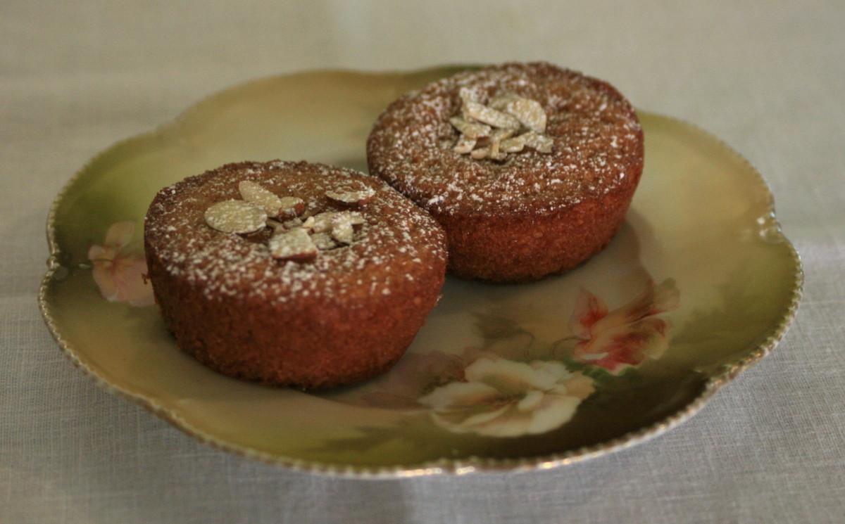 Gluten-Free Almond Tea Cakes