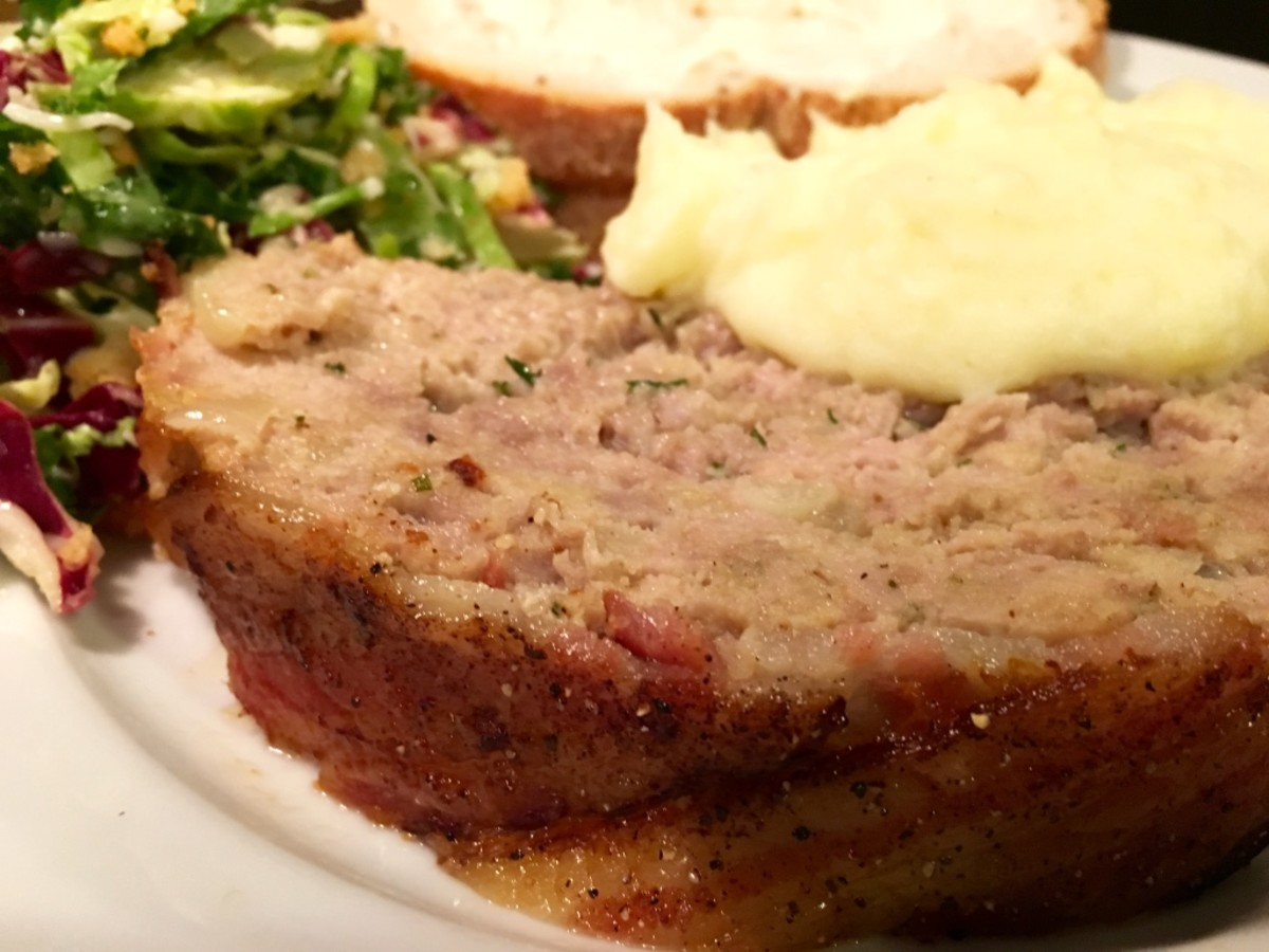 Trifecta Pork Meatloaf Recipe With 3 Different Kinds of Pork