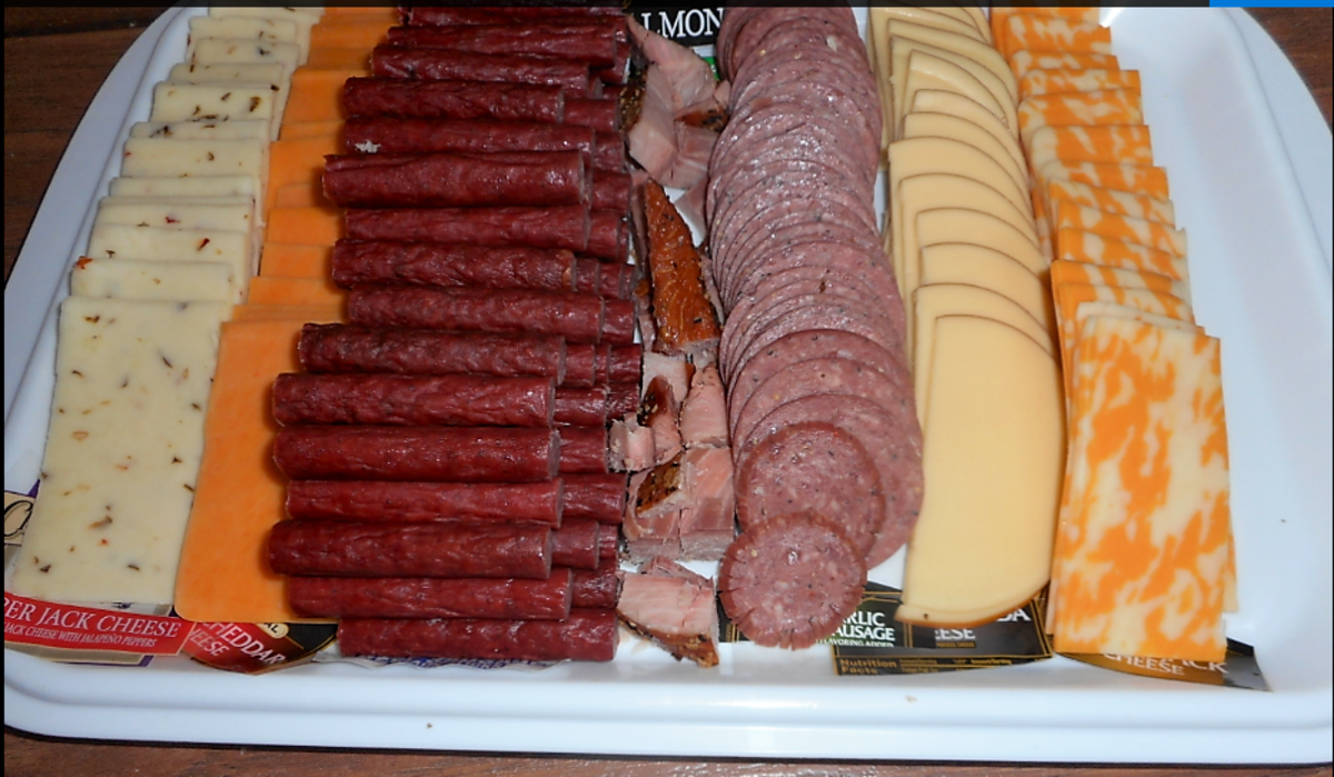 Minnesota Cooking: Slicing Sausage for Your Meat and Cheese Tray