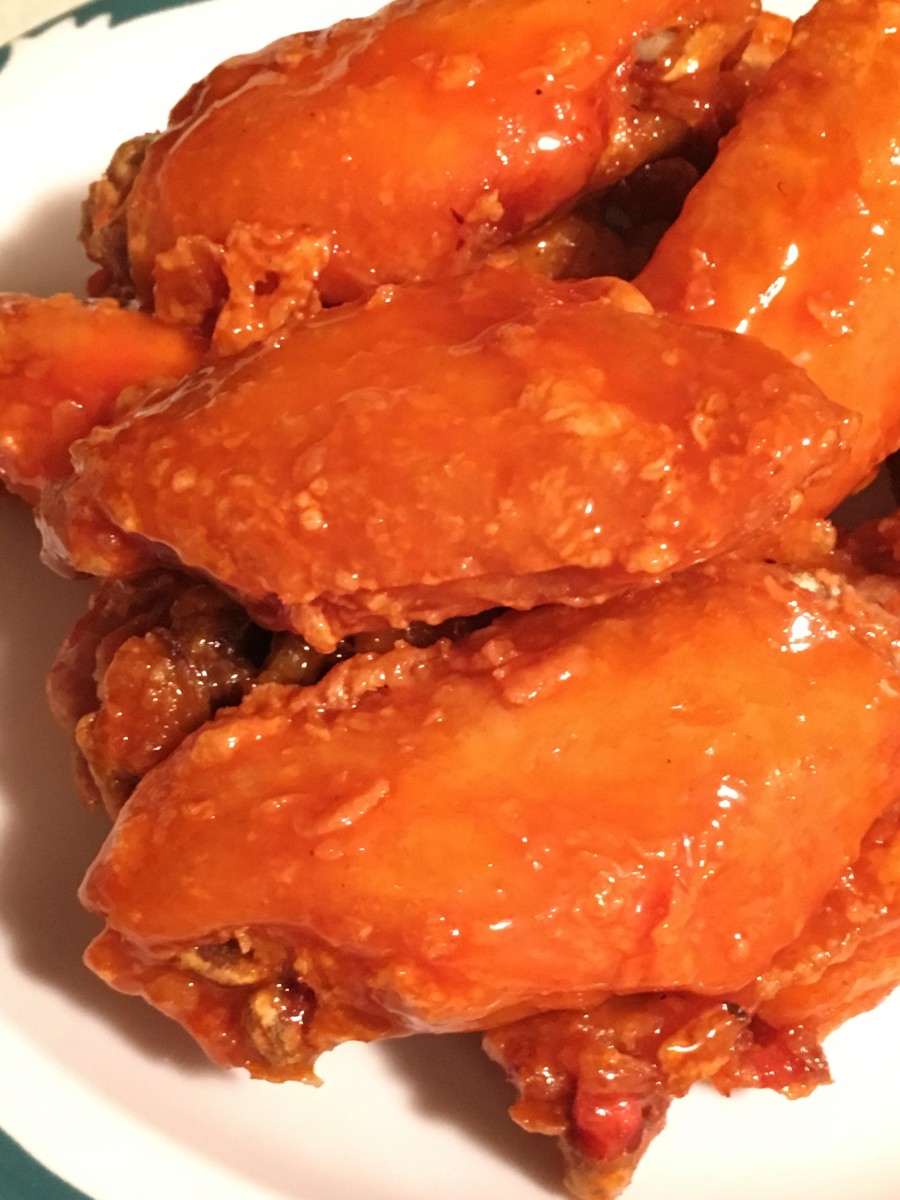 Super Crispy Chicken Wings: A Copper Chef Pot Recipe