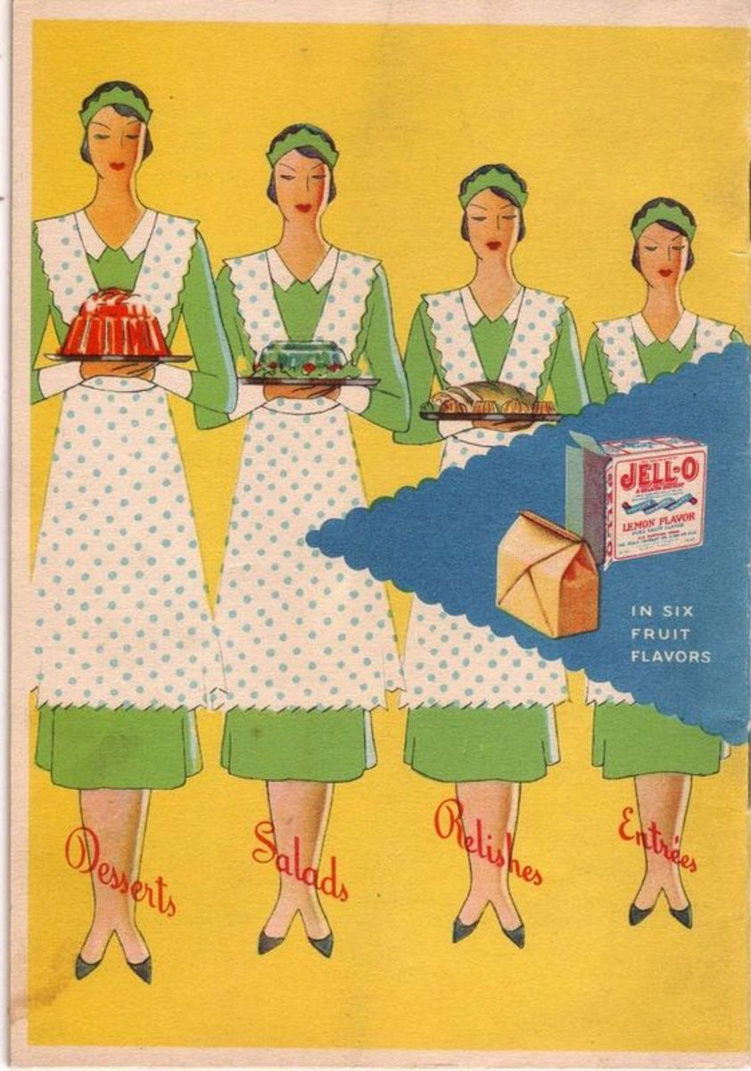 Vintage Jell-O Advertisements and Recipes Your Grandmother Made