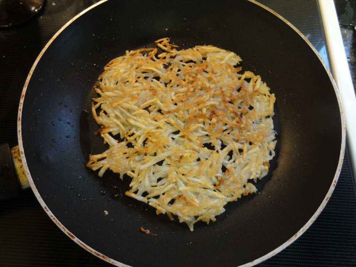 How to Make Hash Browns in 15 Minutes