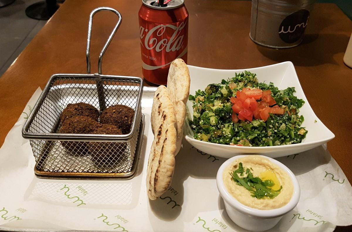 Falafel and Tabbouleh Salad