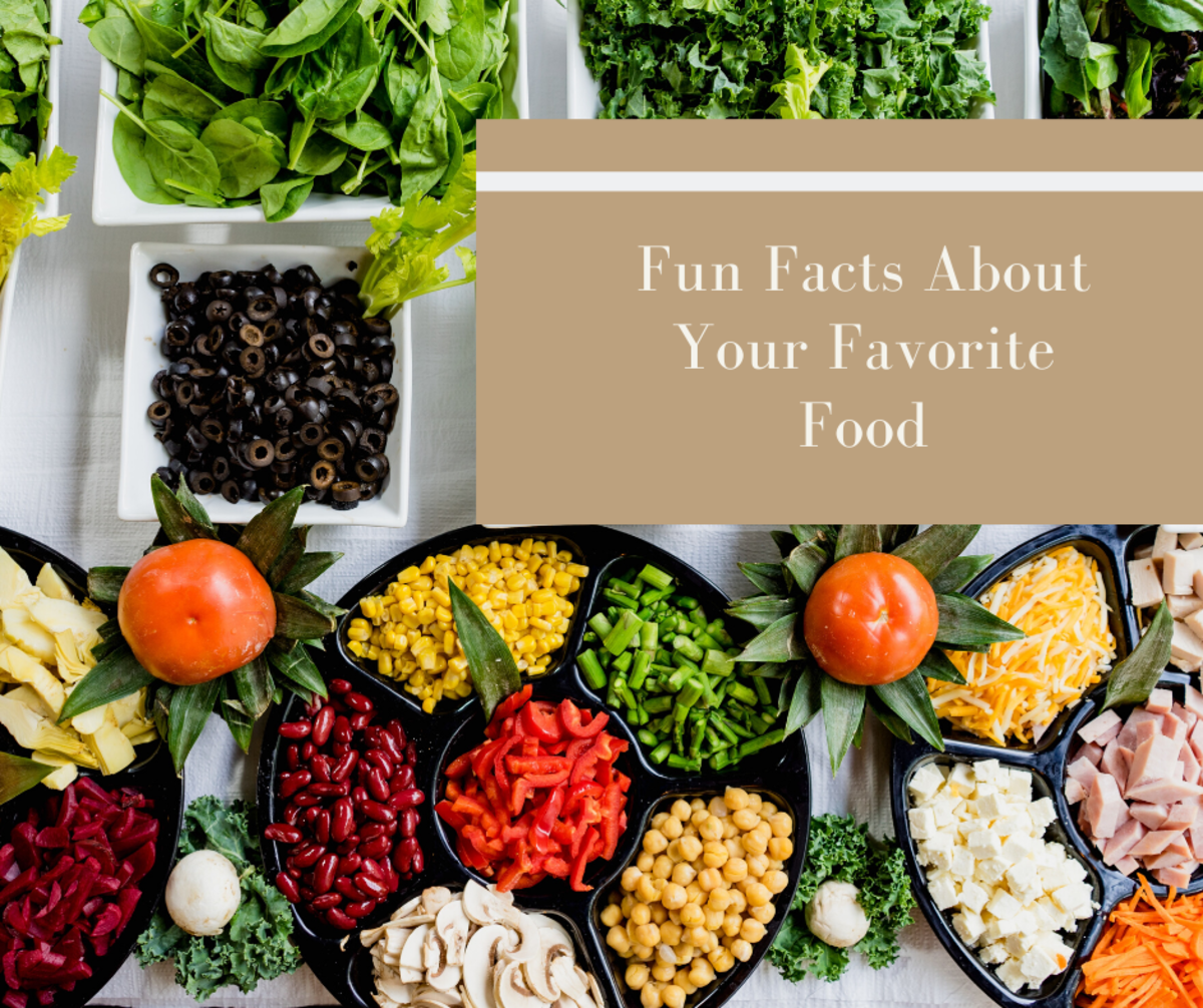 These fun facts will make you appreciate your favorite foods even more.