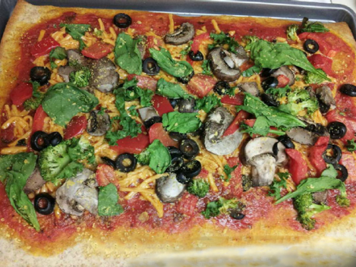 Vegan Pizza, Meatless Tacos, and Meatless Meatloaf Recipes
