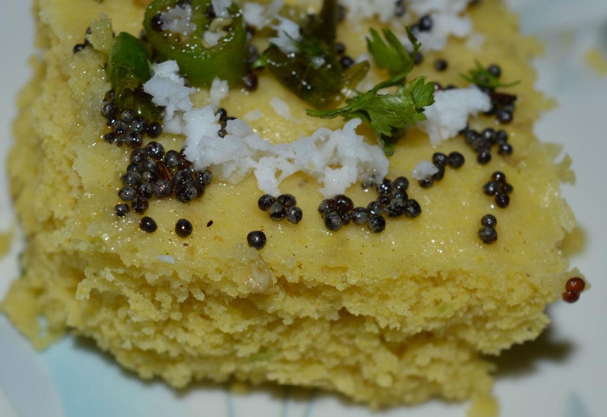 Healthy Snacks: Khaman Dhokla Recipe