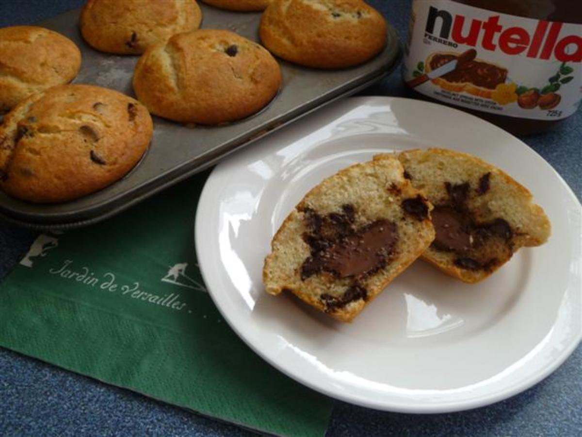 Easy Nutella Muffins