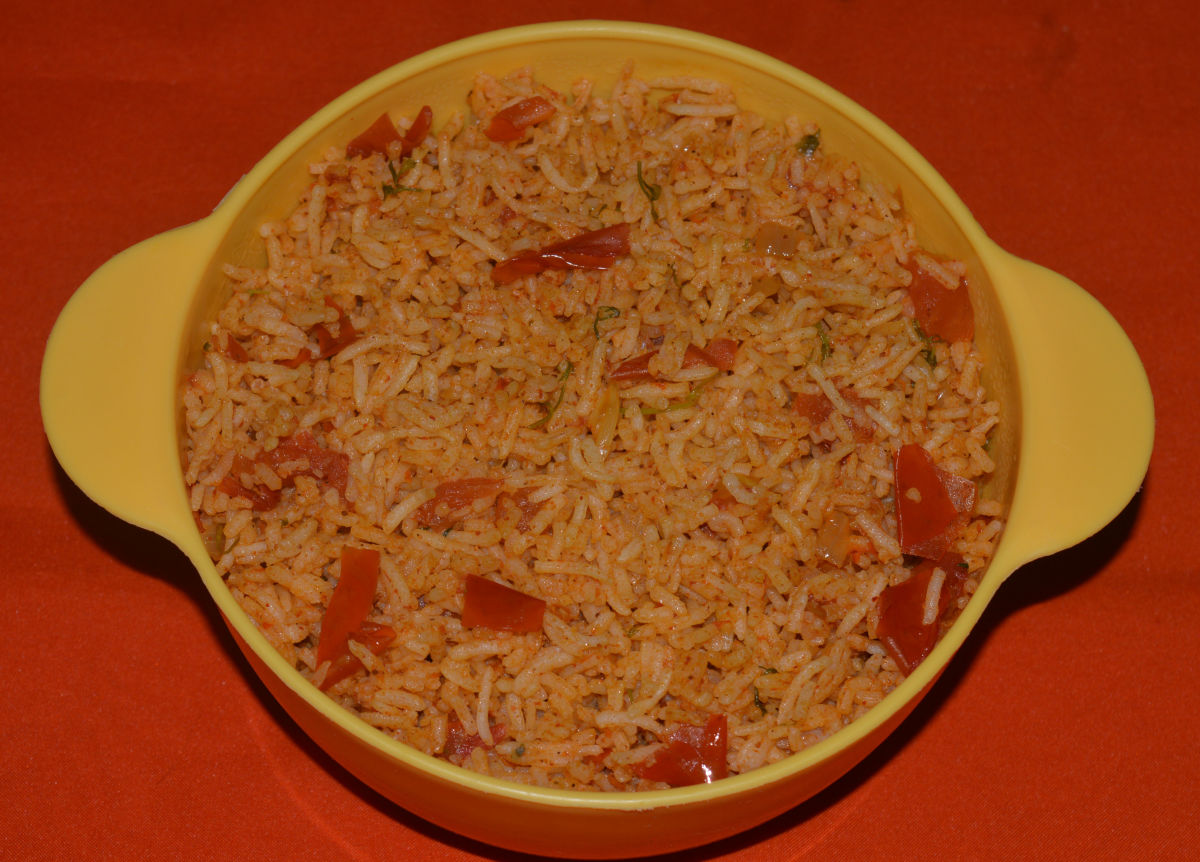 Guide to Make Mouthwatering Tomato Rice