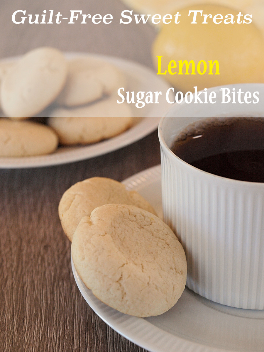 Guilt-Free Lemon Sugar Cookie Bites Recipe