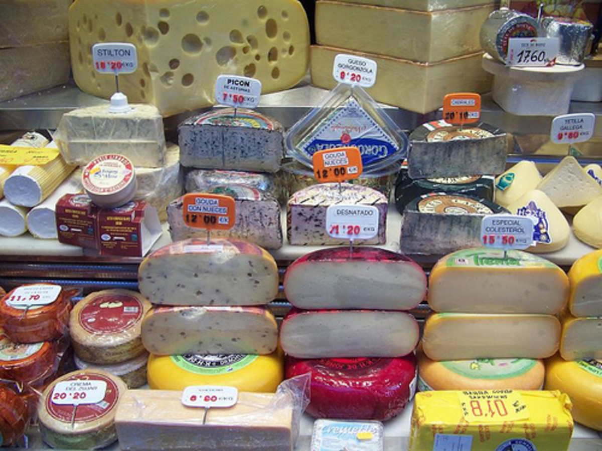 A Humorous & Brief Look at Cheese