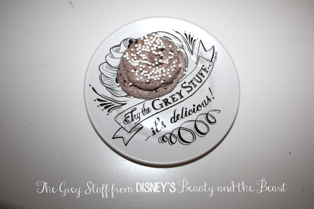 "The Grey Stuff from Disney's ""Beauty and the Beast"""