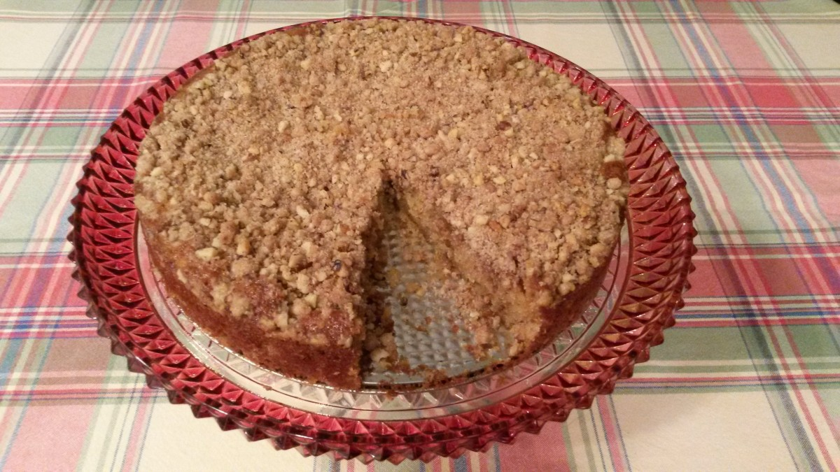 Streusel Coffee Cake Made With Buttermilk Recipe