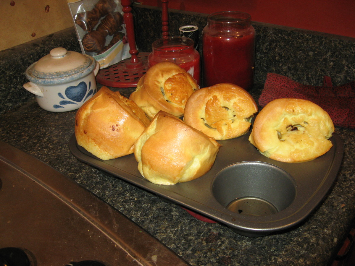 Check out my great American recipe for Yorkshire puddings!