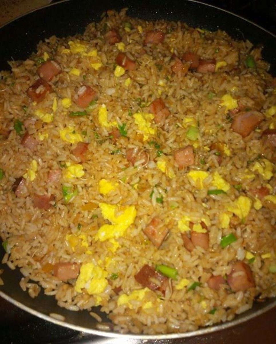 Arroz Chino is a staple in Puerto Rican cuisine.