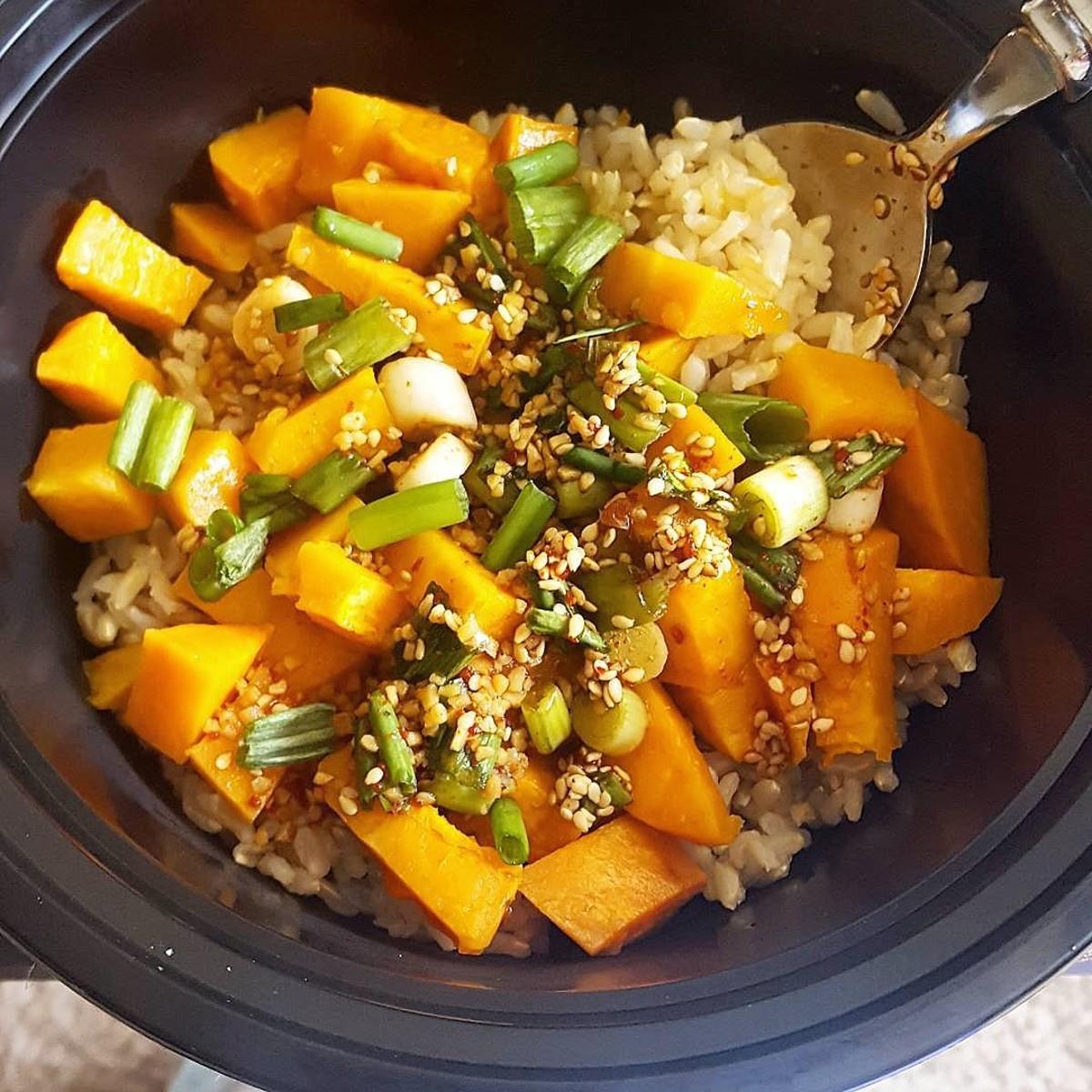 Sweet Potato Rice (Gogumabap) Recipe | Delishably