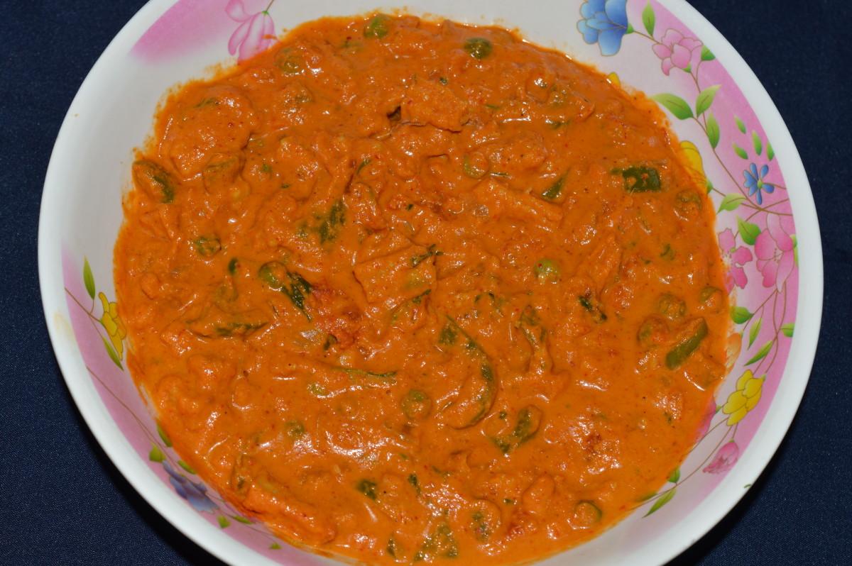 Baby corn veggie kadhai.