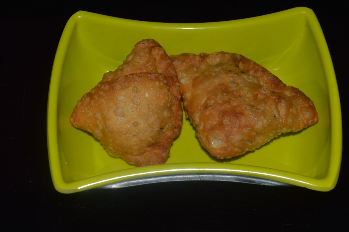 Healthy Snacks: Vegetable Samosa Recipe