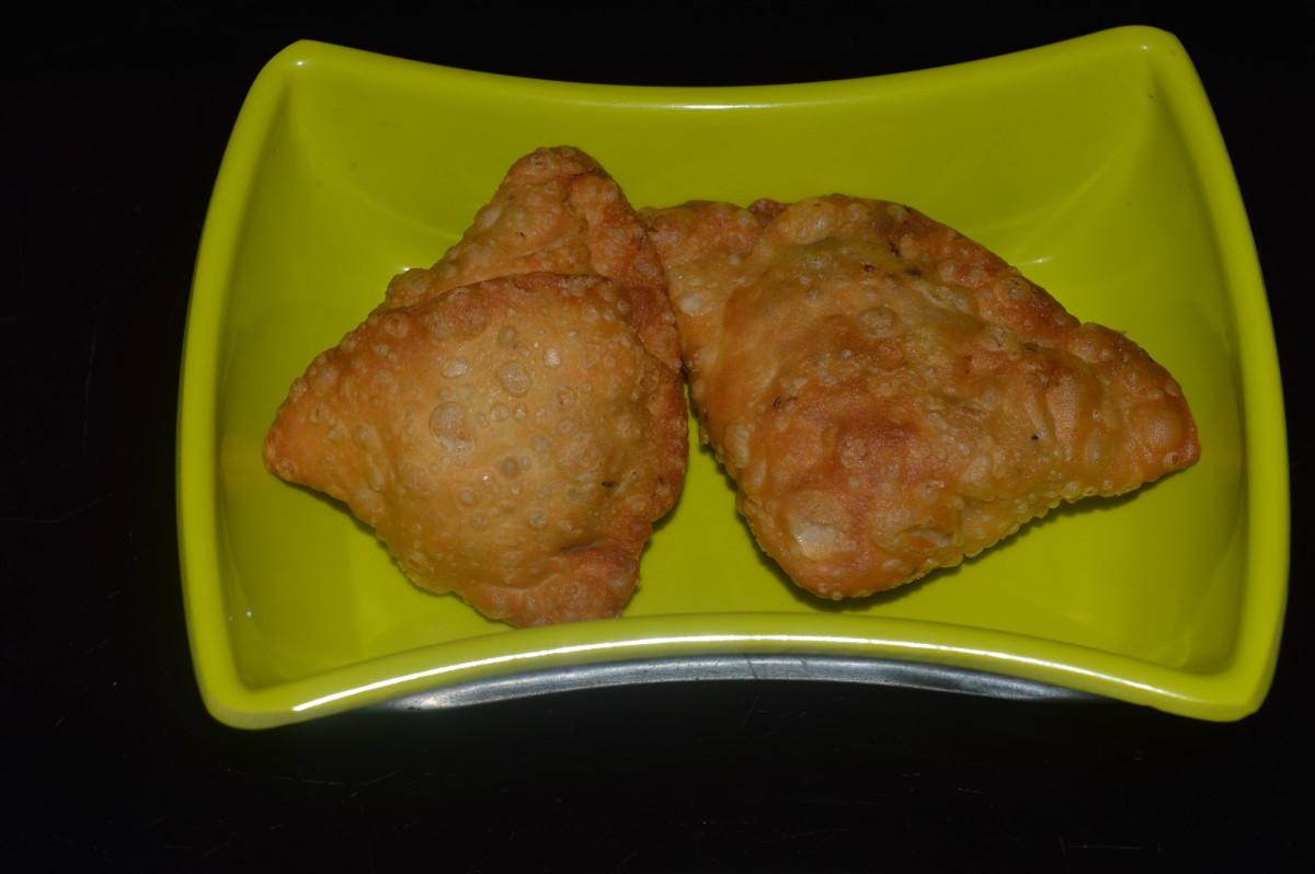Healthy Snacks: Vegetable Samosa Recipe