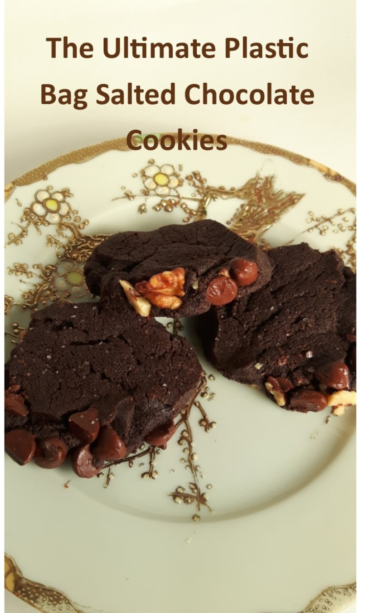 The Ultimate Plastic Bag Salted Chocolate Cookies