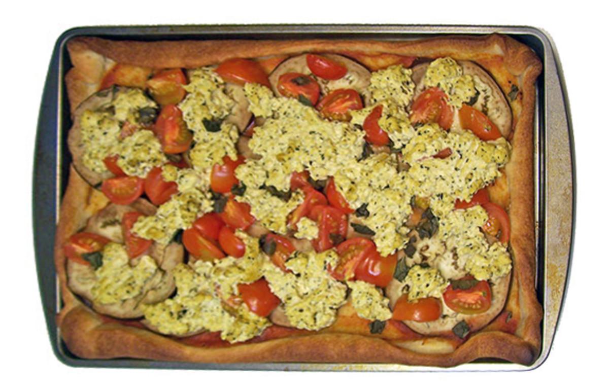 Easy Vegan Pizza With Tofu Ricotta