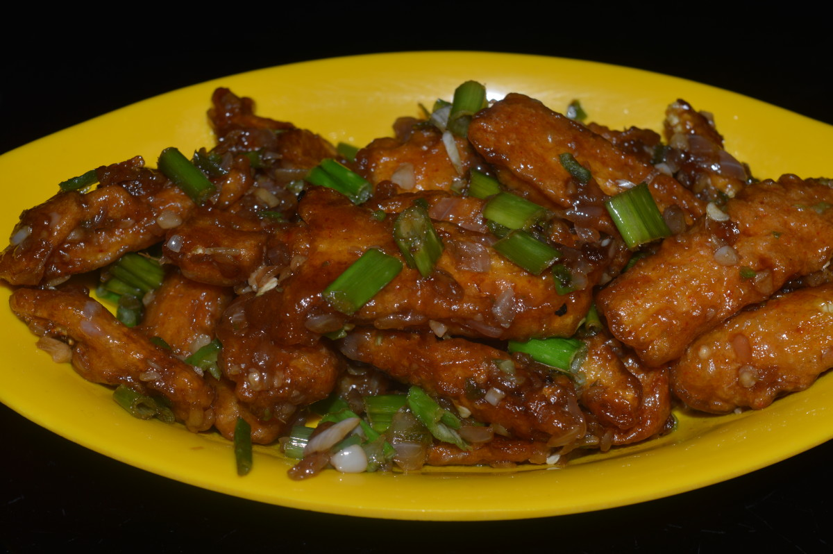 Healthy snacks baby corn manchurian recipe delishably for Ably asian cuisine